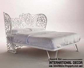Italian wrought iron beds and headboards 2015 white wrought iron