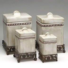 kitchen storage containers ceramic decorative kitchen canisters foter 6157