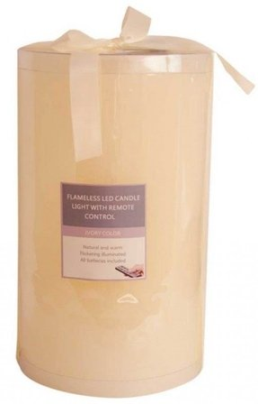 Large flameless candles 2