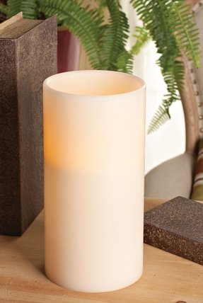 Large flameless candles 3