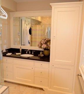 Bathroom Cabinet Tower