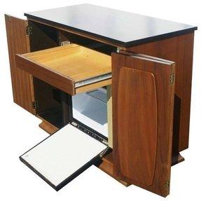 Coffee Bar With Mini Fridge Plans