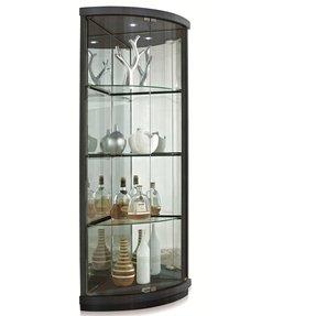 Excellent Contemporary Corner Curio Cabinet Ideas On Foter Interior Design Ideas Gentotryabchikinfo