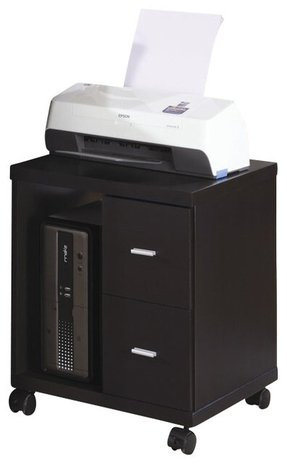 Wood Printer Cart Foter