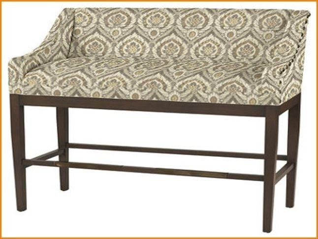 Bon Photo Gallery Of The Kitchen Bar Stool Bench With Vintage