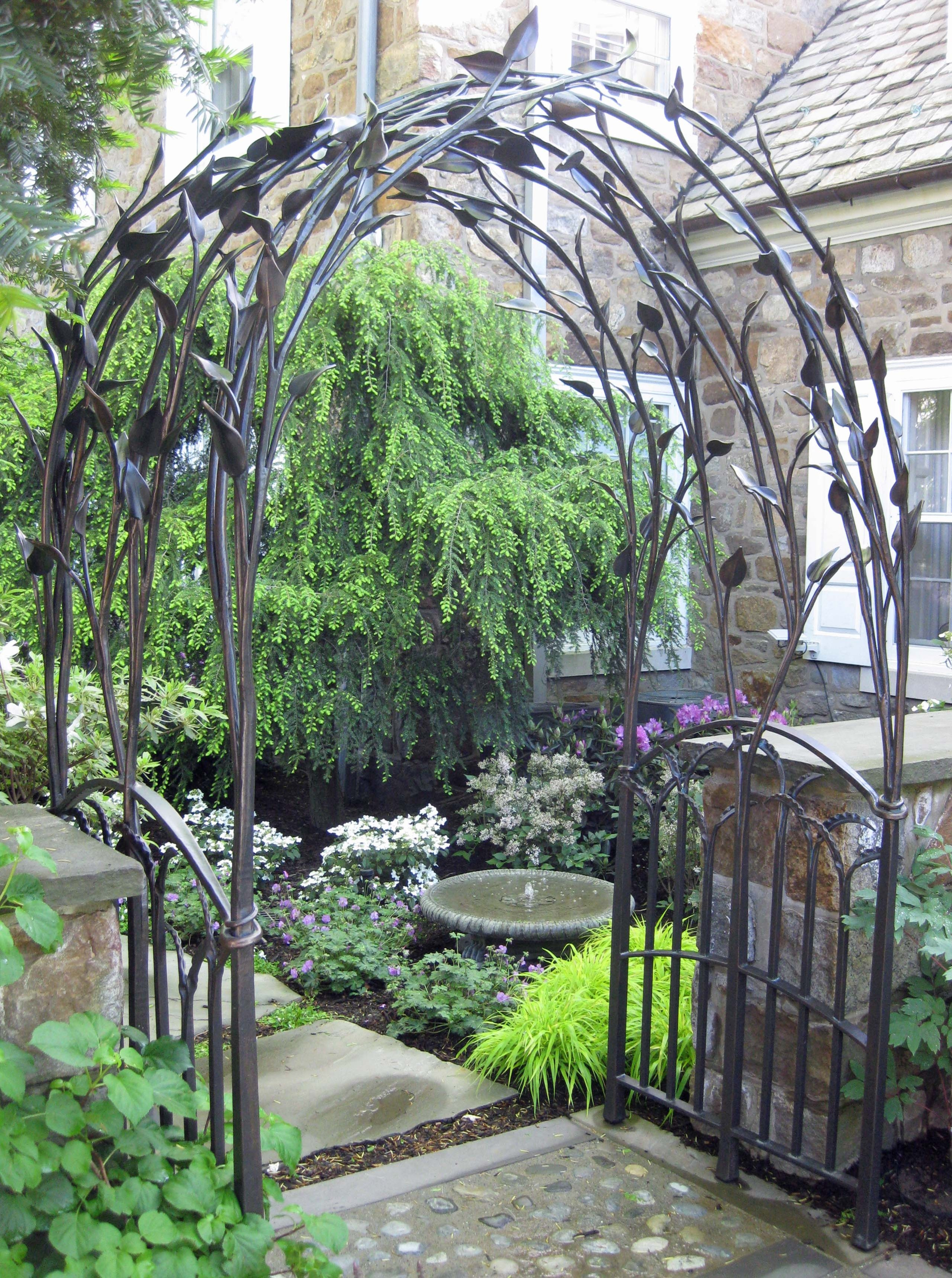 Rose Arches Wrought Iron