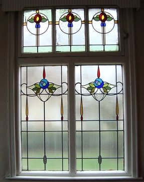 Stained glass windows for the home