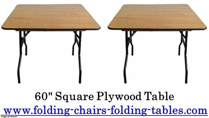 42 Inch Folding Table
