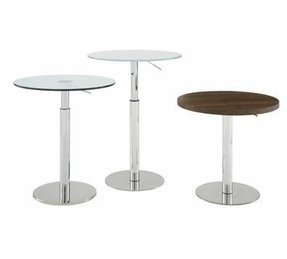 Adjustable Height Cocktail Table Foter - Adjustable height cocktail table