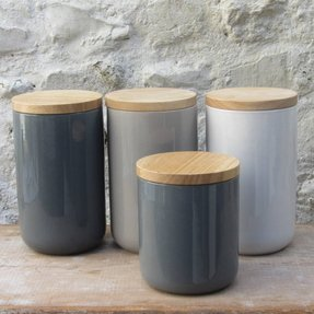 Ceramic storage jars 3