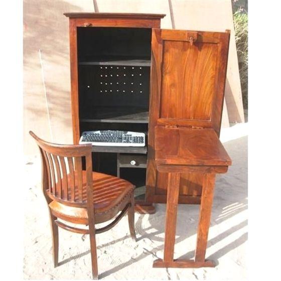 Computer Armoire Desk