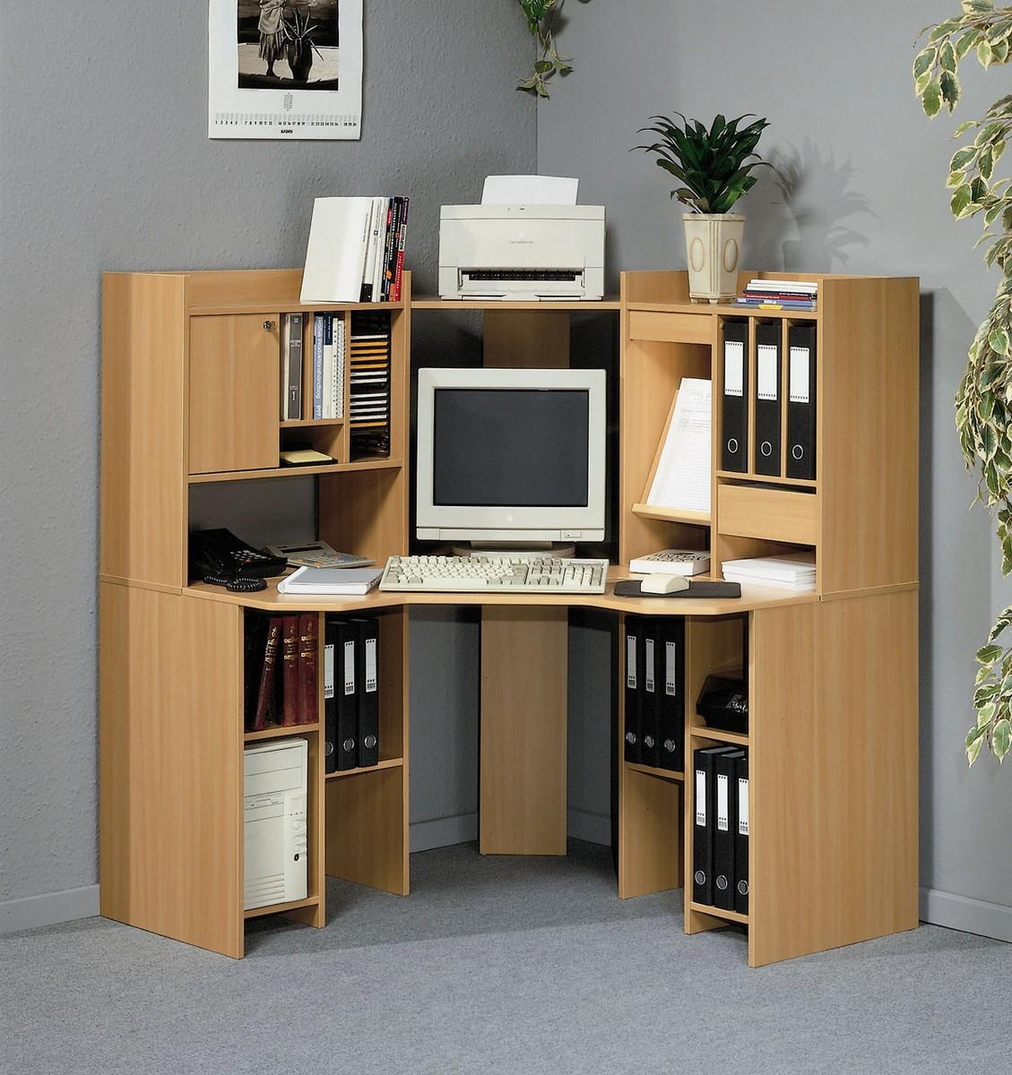 Computer Desk Shelving Unit