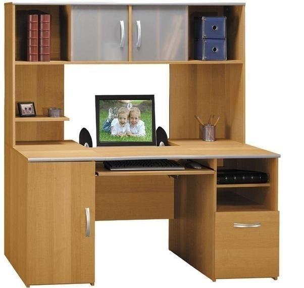 Great Computer Desks With Shelves