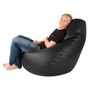 leather bean bags foter. Black Bedroom Furniture Sets. Home Design Ideas