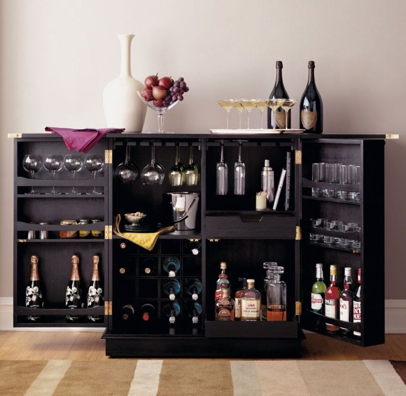 Hide A Bar Liquor Cabinet