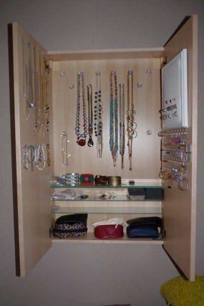 Ikea Hack Jewelry Armoire 1