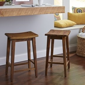 Lawson backless counter stool
