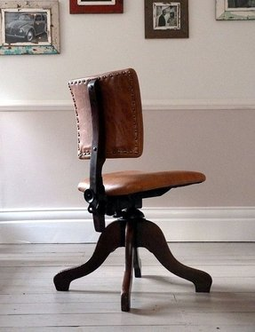 leather desk chairs foter