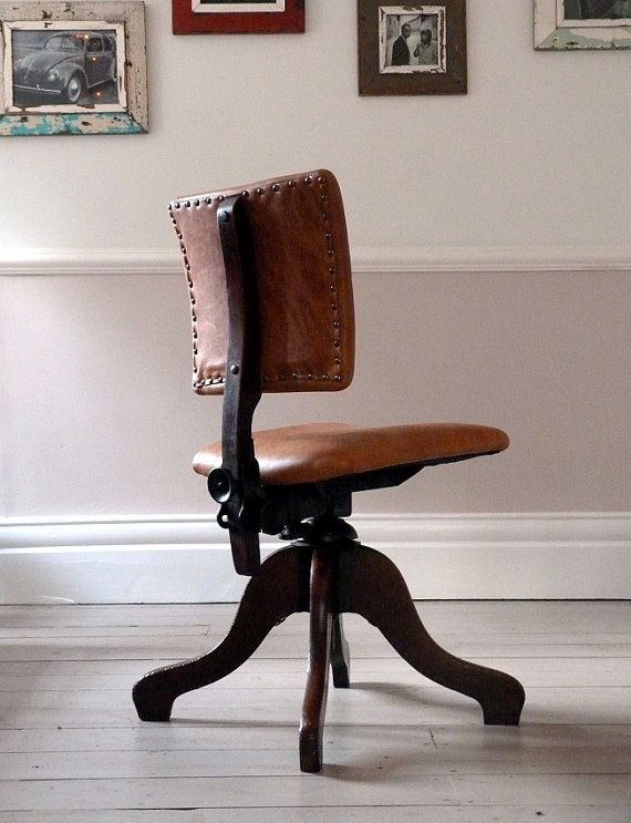 Leather Desk Chairs