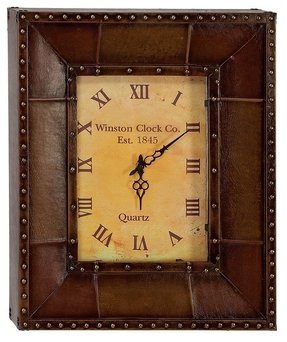 Leather wall clocks 11