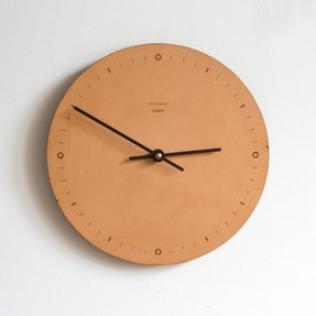 Leather wall clocks 8