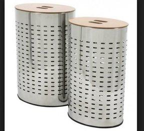 metal laundry bin  Steel Laundry Hamper - Home Decorating Ideas