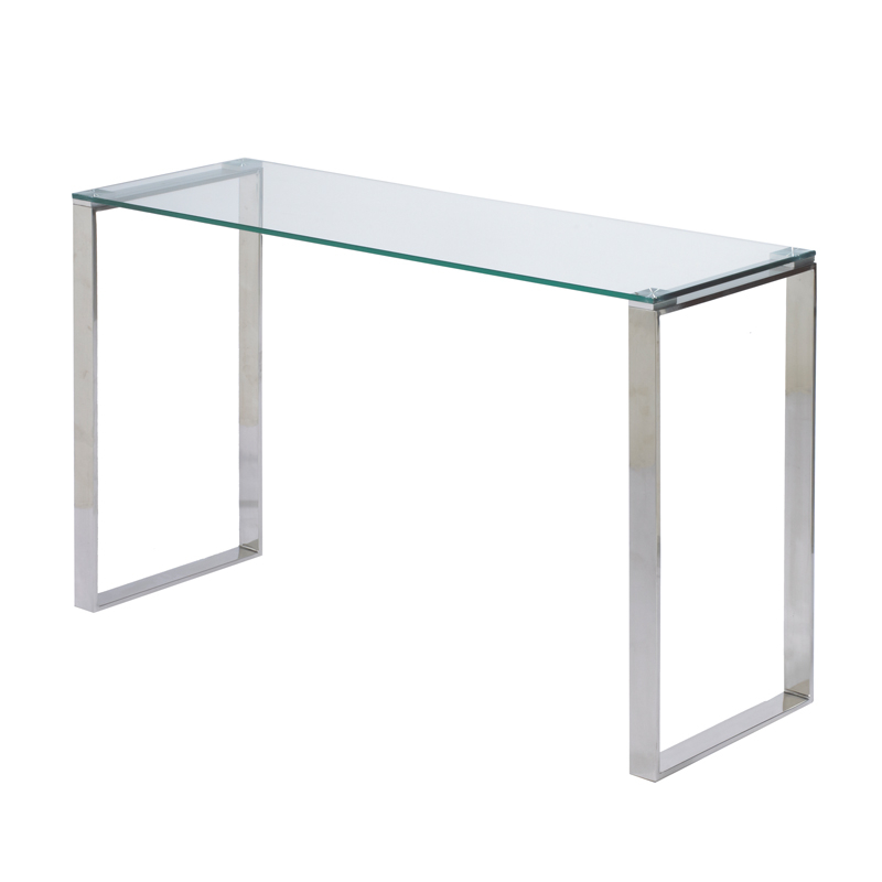 Narrow Glass Console Table 2