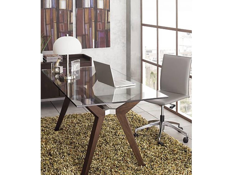Captivating Office Desk Glass Top 3