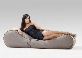 Outdoor bean bag chair with long model