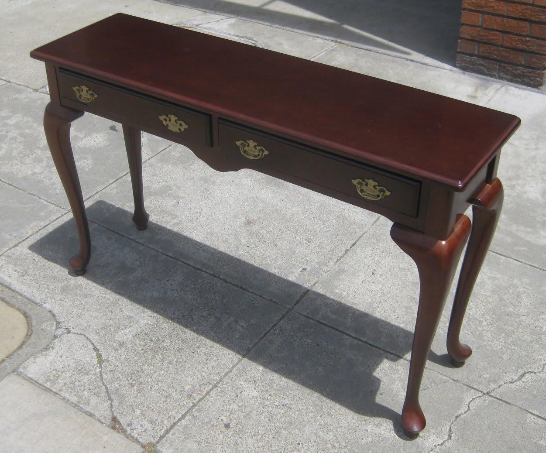 Queen Anne Sofa Table 1