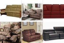 Merveilleux Small Reclining Sofa