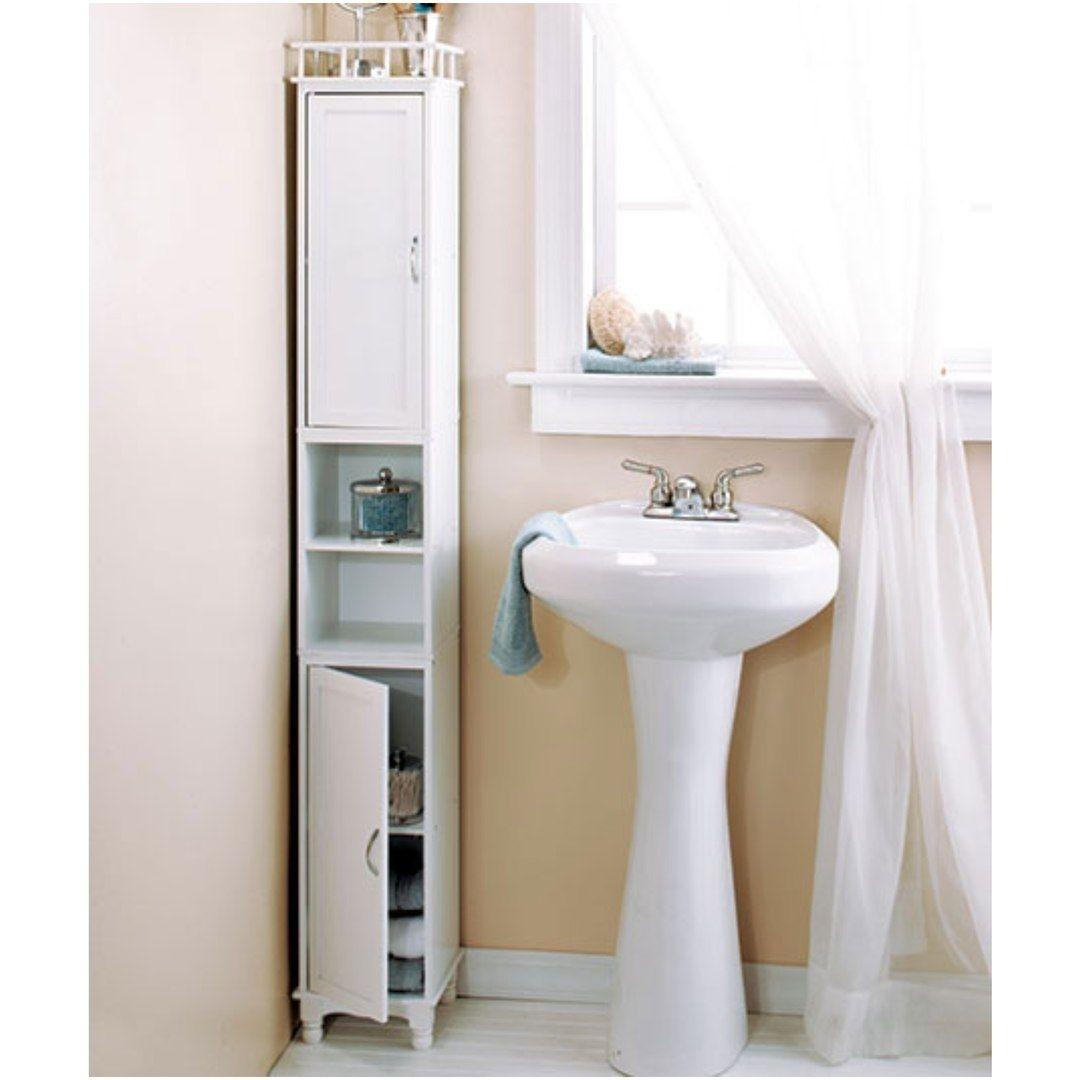 Corner Bathroom Storage Cabinet Tall