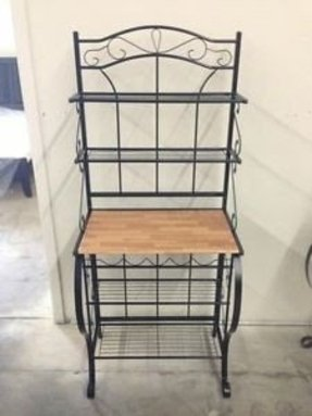 Bakers Rack For Microwave