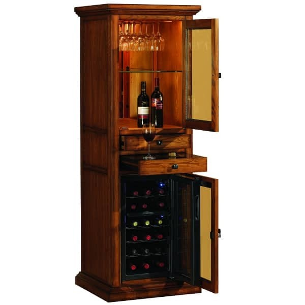 Attractive Bar Cabinet With Wine Cooler