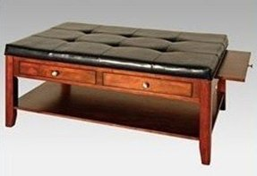 Coffee Table With Pull Out Ottomans Foter