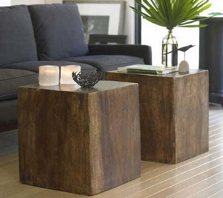Cubes Offer An Alternative To The Traditional Coffee Table