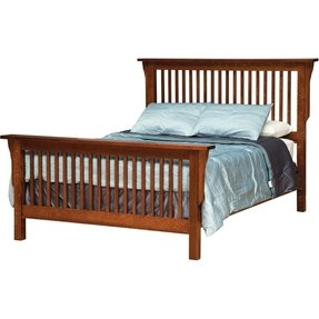 King mission bed