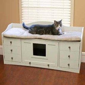 Large Litter Box Furniture 1