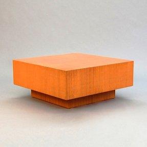 Orange Coffee Table
