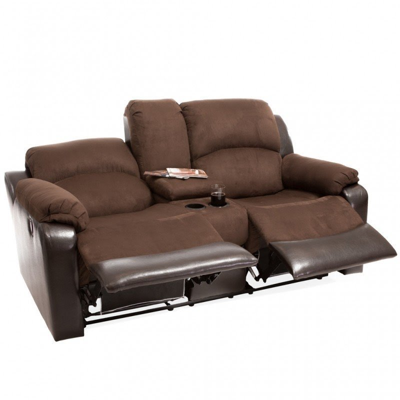 Reclining Loveseat With Cupholders