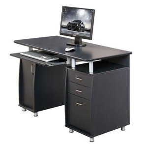 Small computer desk for kitchen