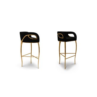 Top 5 black and gold bar stools 1