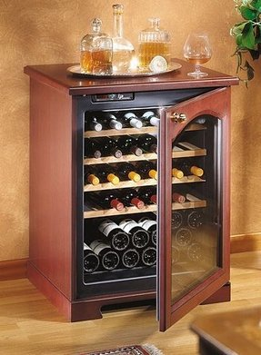 Large Wood Storage Cabinet