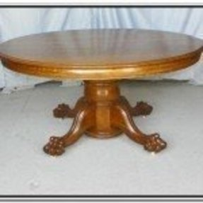 Round Dining Table With Butterfly Leaf Ideas On Foter