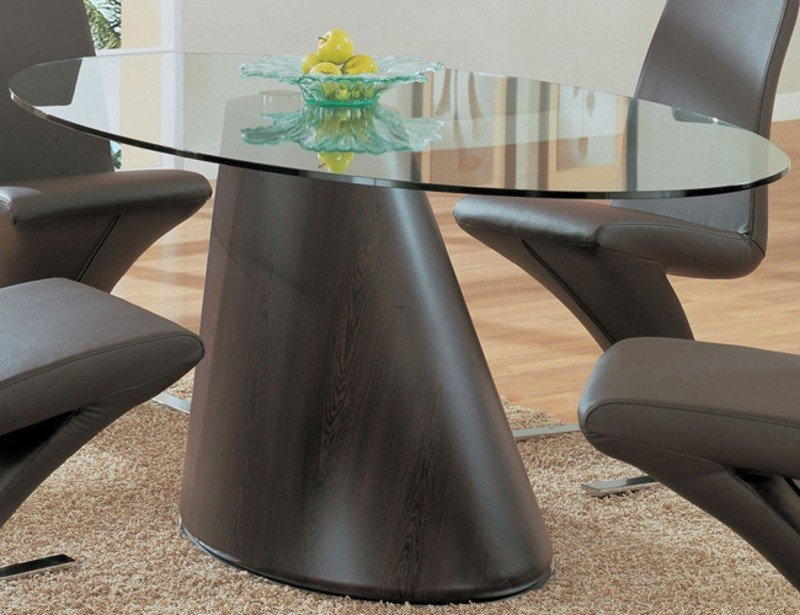 Delicieux Glass Oval Dining Table   Ideas On Foter