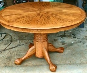 The Beauty Of Round Dining Room Table With Leaf Leaves