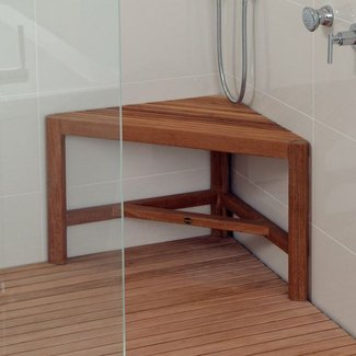 Fiji Corner Shower Bench