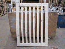 Bespoke Timber Stair Gate Baby Gate Dog Gate
