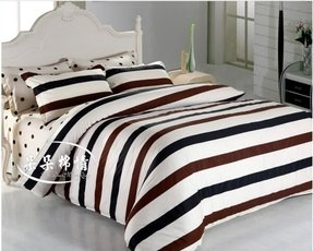 Black And White Stripe Bedding Foter