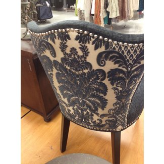 Cynthia rowley nailhead accent chair